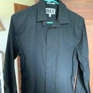 Express Fitted 1MX dress shirt